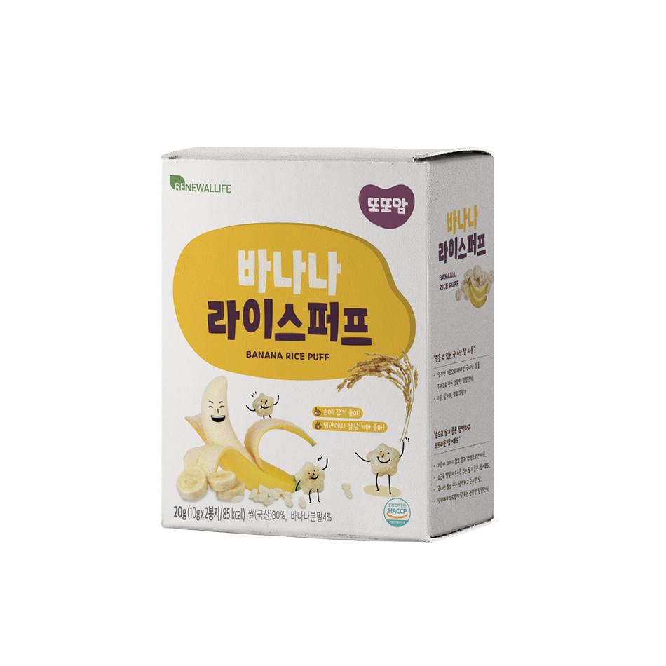 [또또맘] 라이스퍼프 바나나 1박스(10gX2봉)
